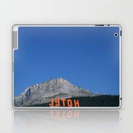 Chamonix hotel Laptop & iPad Skin