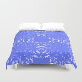 Periwinkle Blue Color Burst Duvet Cover