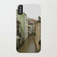 prague iPhone & iPod Cases featuring Prague by Marieken