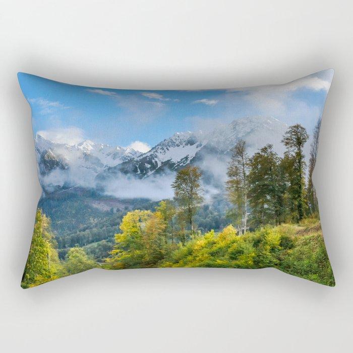 Mount Fisht Rectangular Pillow