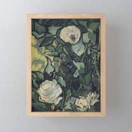 Roses by Vincent van Gogh Framed Mini Art Print