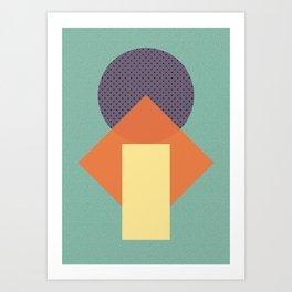 Cirkel is my friend V4 Art Print