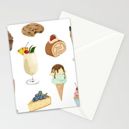 Delicious Bakery Stationery Cards