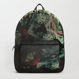Dark forest mosaic kaleidoscope Backpack