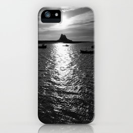 Holy Island iPhone Case