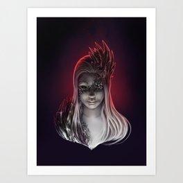 Crystal Contamination 2 Art Print