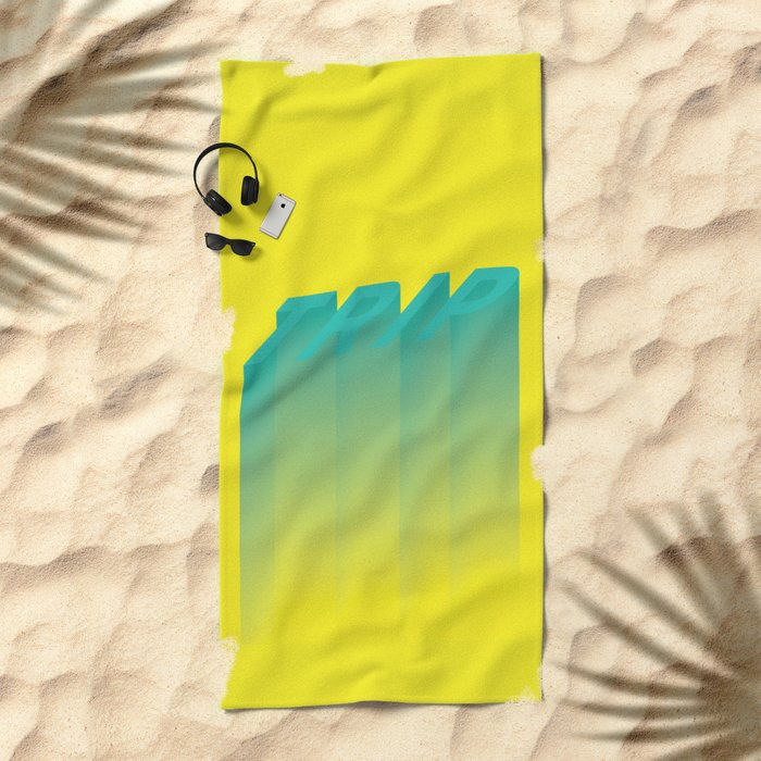 Trip Out Beach Towel