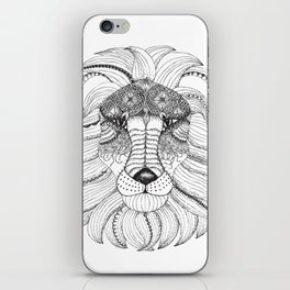 Leo Black/White iPhone Skin