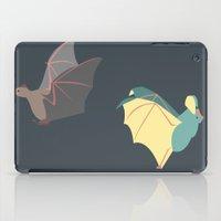 bats iPad Cases featuring Bats by Kat Manderfield