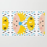 arnold Area & Throw Rugs featuring Hey! Arnold by Carly Watts