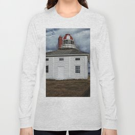 Lighthouse in Newfoundland, Canada Long Sleeve T-shirt