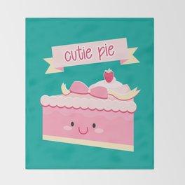 Cute pie Throw Blanket