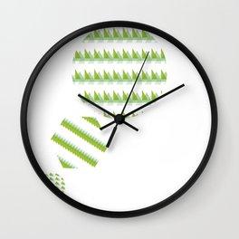 Triangle Drop Wall Clock