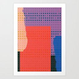 Ripped Art Print