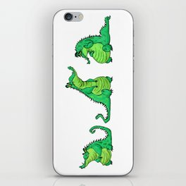 Crocodiles iPhone Skin