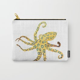 Blue-ringed Octopus (Octopussy) Carry-All Pouch