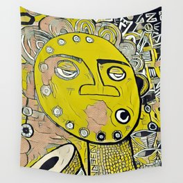 Africanism Wall Tapestry