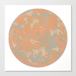 floral ball 4 Canvas Print