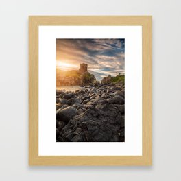 Kinbane Castle VI Framed Art Print