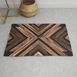Urban Tribal Pattern No.3 - Wood Rug