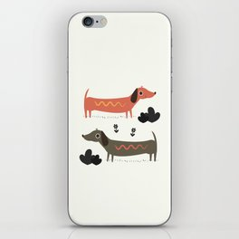 Wiener Dogs iPhone Skin