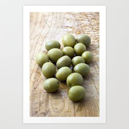 Spanish Manzanilla Olives Art Print