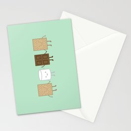 Life is S'more Fun Together (Mint) Stationery Cards