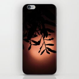 Coral Moon iPhone Skin