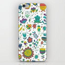 Flowers, flower meadow, nature iPhone Skin