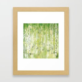 The Birch Grove Framed Art Print