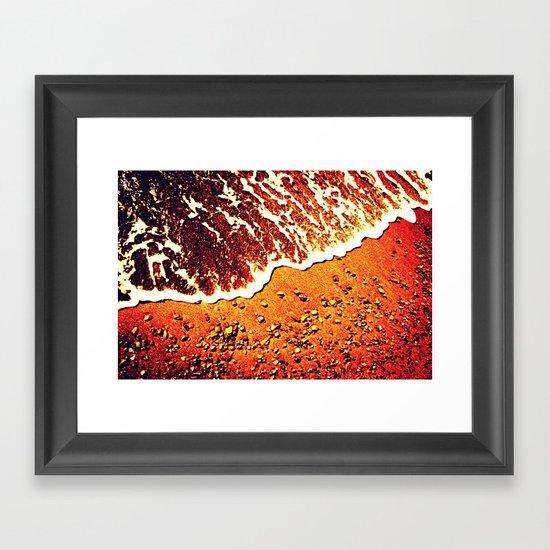 Dark Tide Framed Art Print