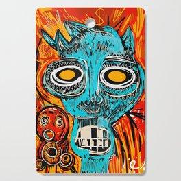 Blue Devil Cutting Board