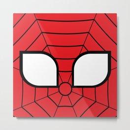 Adorable Spider Metal Print