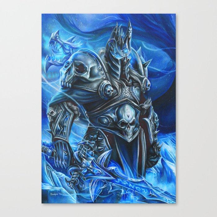 Lich King Canvas Print