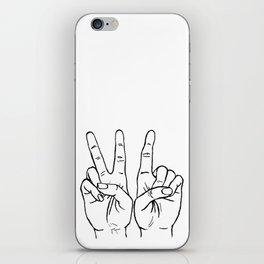 VI hands iPhone Skin