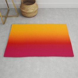 sunSET Ombre Gradient Rug