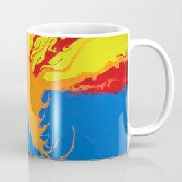 Arizona Flag Fluid Art Style 2 Coffee Mug