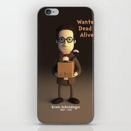 Erwin Schrodinger iPhone Skin