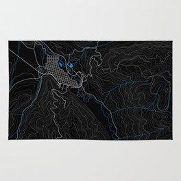 Aspen Topography Map Rug