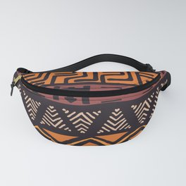 Tribal ethnic geometric pattern 021 Fanny Pack