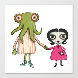 Sophia and Lucille Canvas Print