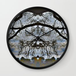 Treeflection VII Wall Clock