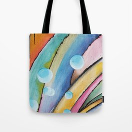 Birth of a Wave Tote Bag