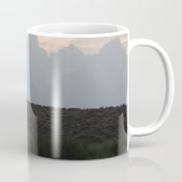 Grand Tetons by the Snake River Coffee Mug
