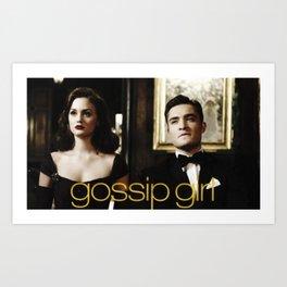 Gossip Girl Art Print