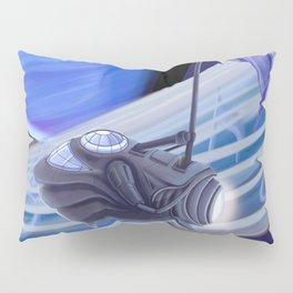 Through Space and Sound Pillow Sham