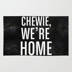 Chewie, We're Home Rug