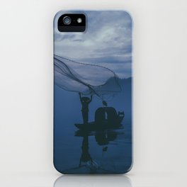 Catch Of The Day - Fine art Photograph iPhone Case