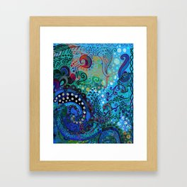 Under the Sea Framed Art Print