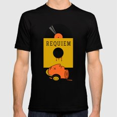 requiem LARGE Mens Fitted Tee Black